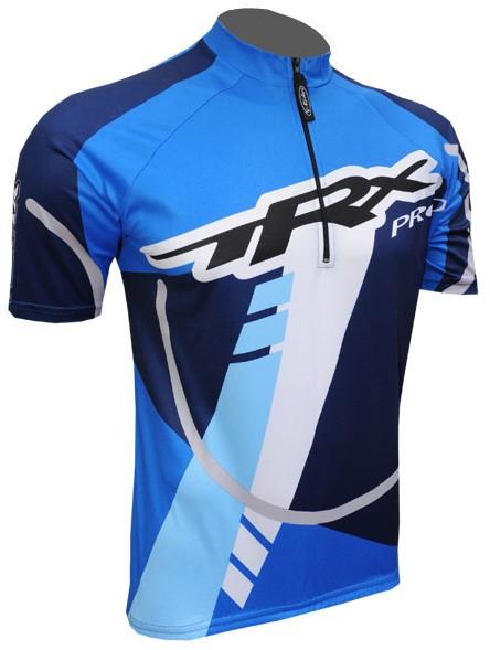 Cyklistický dres ACSTAR TRX COOLMAX - modrý