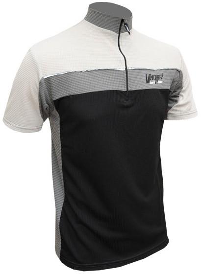 Cyklistický dres BIKE - šedo/černý