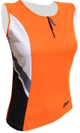 Cyklistický dres CARIBIC - oranžový