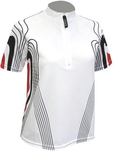 Cyklistický dres CINDY - bílý