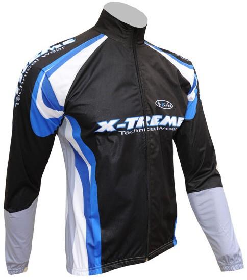 Sportovní bunda X-TREME – černo/modrá