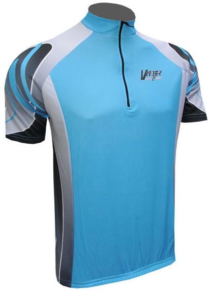 Cyklistický dres KINLEY - modrý
