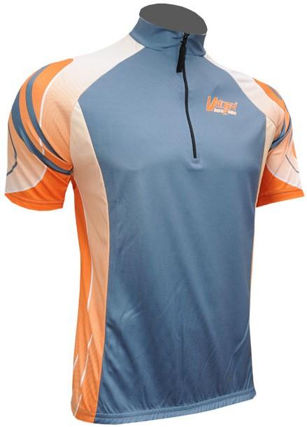 Cyklistický dres KINLEY - šedý