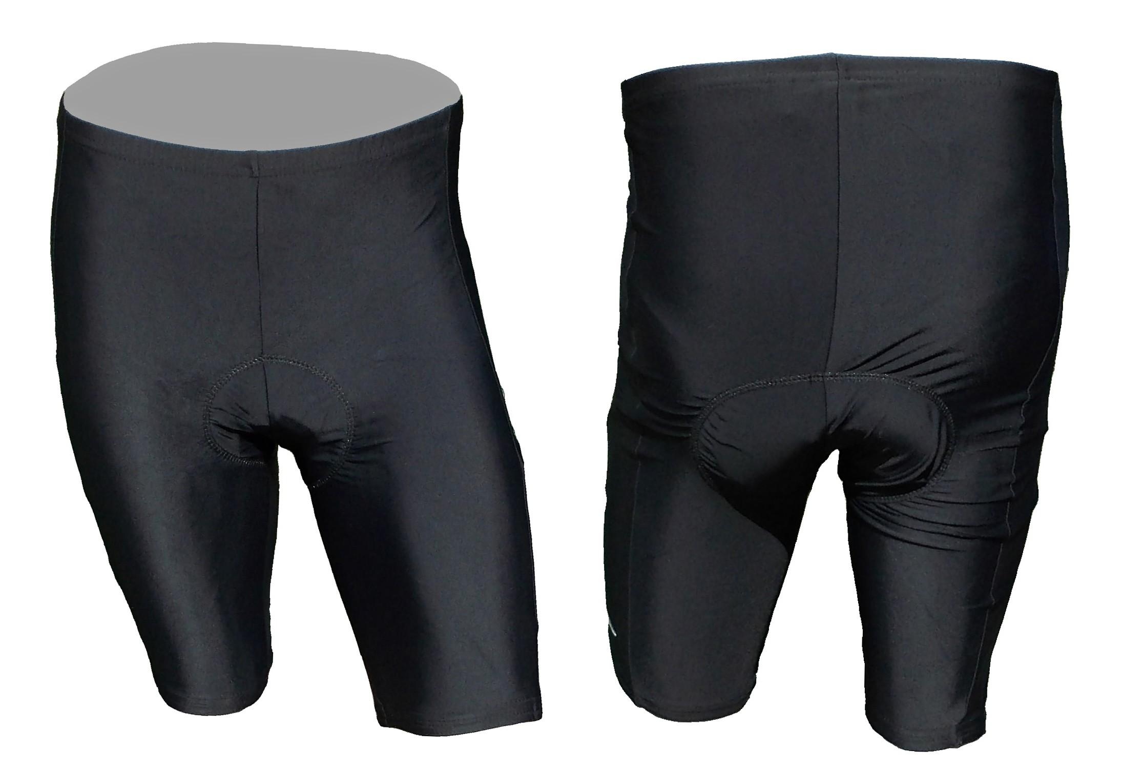 Cyklistické kraťasy SPORT do pasu pánské - černá