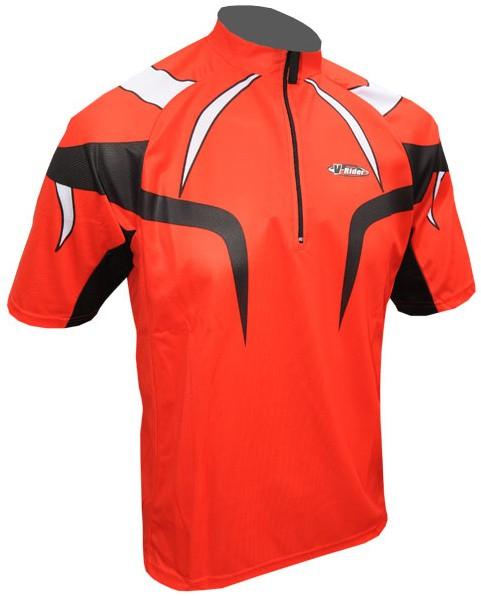 Cyklistický dres PROFI - červený