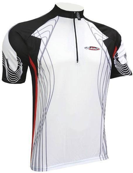 Cyklistický dres RACE - bílý