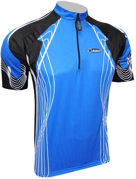 Cyklistický dres RACE - modrý
