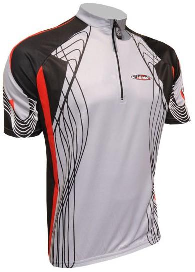 Cyklistický dres RACE - šedý