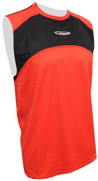 Sportovní triko TOP FREE COOLMAX - červený