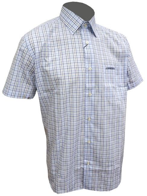 Košile LIFE - modro/černá