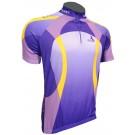 Cyklistický dres BLACKY - fialová