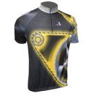 Cyklistický dres BLACKY - žlutá