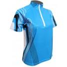 Cyklistický dres CINDY - modrý