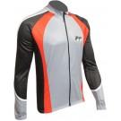 Cyklistický dres COMP - šedý