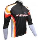 Sportovní bunda X-TREME – černo/oranžová