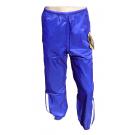 Šusťákové kalhoty - modrá - velikost XS
