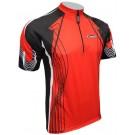 Cyklistický dres RACE - červený