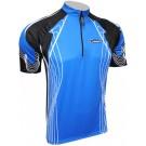 Cyklistický dres RIDER COOLMAX - modrý