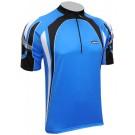Cyklistický dres SPEED - modrý